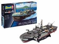 Revell of Germany  1/72 Patrol Torpedo Boat PT-588/PT-579 (Late) RVL5165