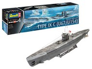 Revell of Germany  1/72 German Submarine Type IXC (Early Turret) RVL5166