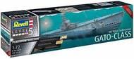 Revell of Germany  1/72 US Navy GATO Class Submarine PLATINUM EDITION RVL5168