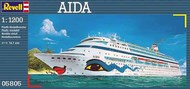 Revell of Germany  1/1200 Aida Cruise Ship RVL5805