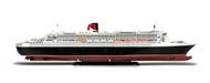 Revell of Germany  1/1200 Queen Mary II Ocean Liner RVL5808