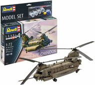 MH-47E Chinook Helicopter w/paint & glue RVL63876