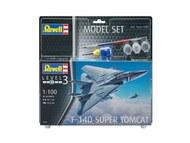 Revell of Germany  1/100 F-14D Super Tomcat Fighter w/paint & glue RVL63950