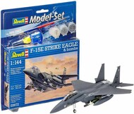 F-15E Strike Eagle Attacker w/Bombs, paint & glue RVL63972