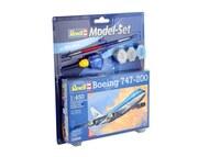 Revell of Germany  1/450 B747-200 Jumbo Jet Airliner w/paint & glue RVL63999