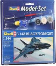F-14A Black Tomcat Fighter w/paint & glue RVL64029