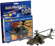 Revell of Germany  1/144 AH-64D Longbow Apache Helicopter w/paint & glue RVL64046
