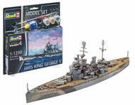 Revell of Germany  1/1200 HMS King George V Battleship w/paint & glue RVL65161