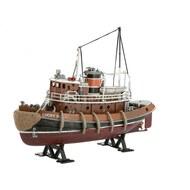 Harbor Tug Boat w/paint & glue #RVL65207
