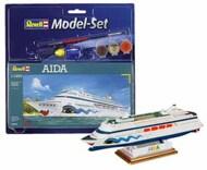 Revell of Germany  1/1200 Aida German Cruise Liner w/paint & glue RVL65805