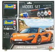Revell of Germany  1/24 McLaren 570S Sports Car w/paint & glue RVL67051