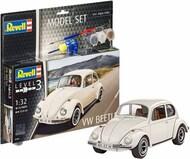 Revell of Germany  1/32 VW Beetle Car w/paint & glue RVL67681