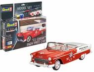 1955 Chevy Indy Pace Car w/paint & glue #RVL67686
