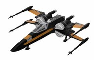 PoeGÇÖs Boosted X-Wing Fighter #RVL6777