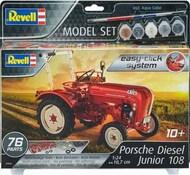 Revell of Germany  1/24 Porsche Diesel Junior 108 Farm Tractor (Snap) w/paint & glue RVL67820