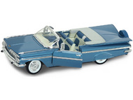 Road Legends  1/18 1959 Chevy Impala Convertible (Blue) RLG2118BLU