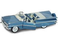 Road Legends  1/18 1959 Chevy Impala Convertible (Blue) RLG2118BLU