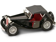 Road Legends  1/18 1947 MG TC Midget Convertible (Black) RLG2468BLK