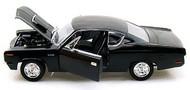 Road Legends  1/18 1970 AMC Rebel Car (Black) RLG2778BLK