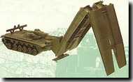 Herpa Minitanks/Roco  1/87 M48 AVLB Bridge Layer HER219