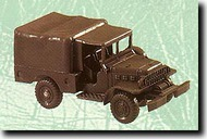 Herpa Minitanks/Roco  1/87 Dodge WC52 Weapon Carrier w/ Canvas Cover HER225