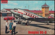 DC-3 Trans World Airlines Airliner #ROD309