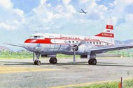 Convair CV340 Hawaiian Airlines Airliner #ROD334