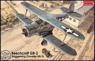 Roden  1/48 Beechcraft GB2 Staggerwing (Traveller) WWII US Courier BiPlane ROD447