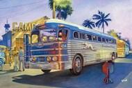 RESERVATION PRICE: 1947 GMC PD3751 Silverside Greyhound Bus (New Tool) (JUL) - Pre-Order Item* #ROD816