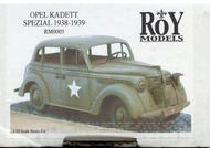 Roy Models  1/35 Opel Kadett Spezial 1939/1938 (still shrink wrapped) RM0005