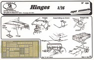 Hinges, various types (Photo-Etch) #RML36