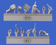 Assorted Hands Set No.4 (Resin)* #RML914