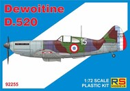 Dewoitine D.520 4 decal v. for France - Pre-Order Item RSMI92255