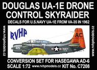 Douglas UA-1E Skyraider (USN) Douglas AD-6 conversion #RVHC7208