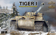 Tiger I w/ Full Interior and Clear Parts (hull & turret) #RFM5025