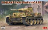 Panzer Pz.Kpfw.VI (7.5cm) Ausf.B (vk36.01) #RFM5036