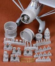 Westland Lysander Mk.III engine & cowling set Resin+PE #SBS48071