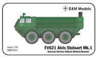 S & M Models  1/76 FV621 Alvis Stalwart Mk.1. Britain/Sweden SMK76-01