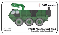 S & M Models  1/76 FV623 Alvis Stalwart Mk.2 RA Artillery Limber SMK76-03