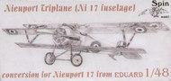 SPIN Models  1/48 Nieuport Triplane (Ni-17 Fuselage) (EDU) SPINC4804