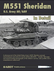 M551 Sheridan US Army AR/AAV In Detail #SAB012