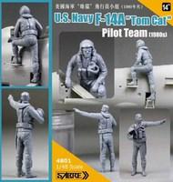 U.S.Navy Grumman F-14A Tomcat Pilot Team x 2 (1980s) - Pre-Order Item SBM4801