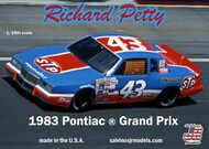 Richard Petty #43 Pontiac Grand Prix 1983 Winston Cup Race Car #SJM1983