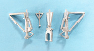 Scale Aircraft Conversion  1/144 C-54/DC-4 Skymaster Landing Gear (for Minicraft Kit) SCV14422