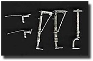 Scale Aircraft Conversion  1/32 P-38 Lightning Landing Gear (for Trumpeter Kit) SCV32004