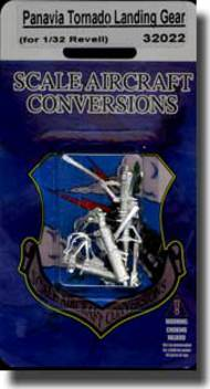 Scale Aircraft Conversion  1/32 Panavia Tornado Landing Gear (for Revell Kit) SCV32022