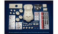 Scale Motorsport  1/12 Ba Ba (Custom Corvette) Bank Race Car Resin Builders Kit (D)<!-- _Disc_ --> SMO31233