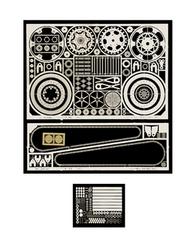 Scale Motorsport  1/12 Motorcylce Detail Set (For TAM Yamaha) SMO4220