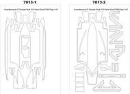 Scale Motorsport  1/24 Ferrari F2003GA Template Comp. Fiber SMO7013