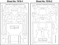 Scale Motorsport  1/24 Nissan 390 GT1 Template Comp. Fiber SMO7016
